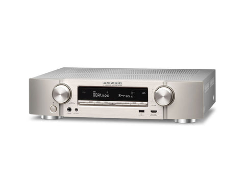 Marantz NR1608 Ultra-Slim AV Receiver with HEOS
