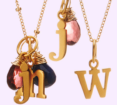 Let's Get Personal - Charms, Gems & Monograms