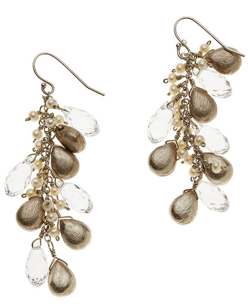 Elegance Earrings - Freshwater Pearl