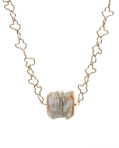 Glen Ellen Necklace - Pearl