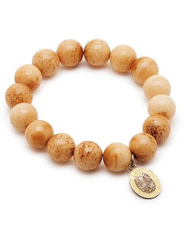 Milagros Bracelet - Natural Bone