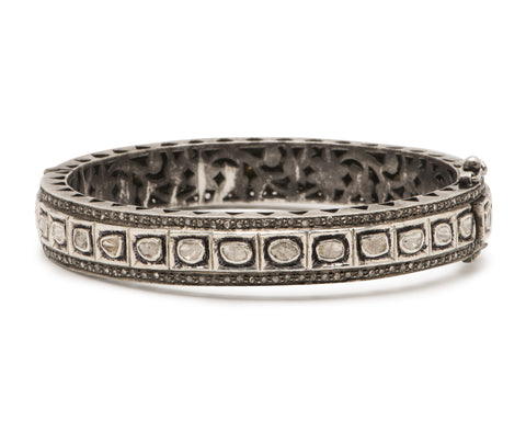 Diamond Polki Bangle