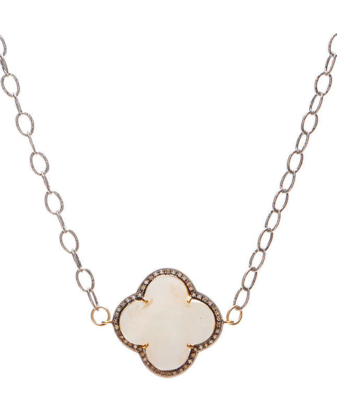 Bowery Necklace - Mother of Pearl