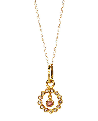 Nob Hill Necklace - Diamond