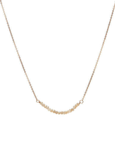 Bar Necklace - Silverite