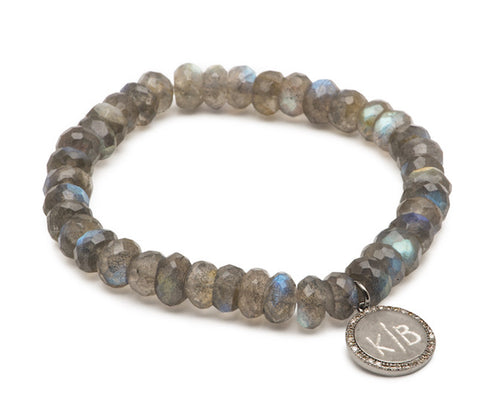 Napa Valley Bracelet with Diamond Disc
