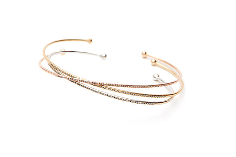 A Touch of Sparkle Diamond Cuff