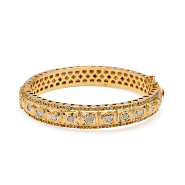 Diamond Polki Bangle - GV