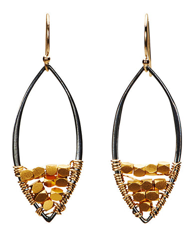 Mill Valley Earrings - Gold Vermeil