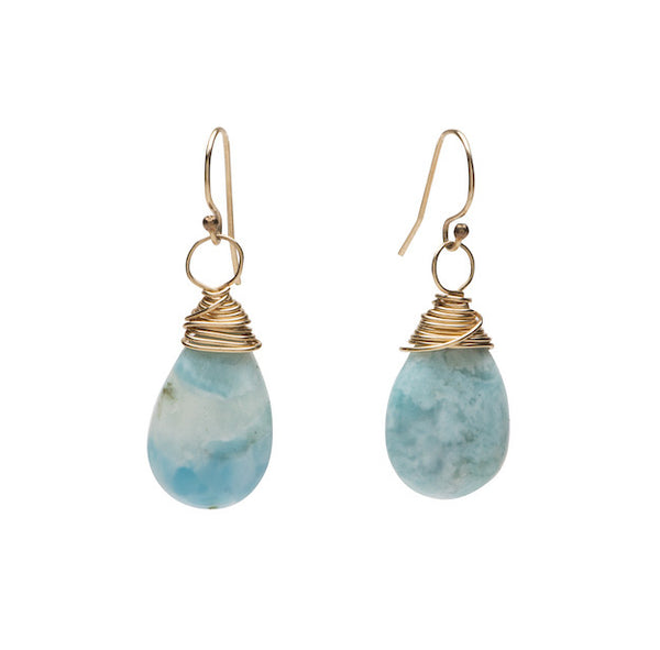 Solage Earrings Small - Larimar