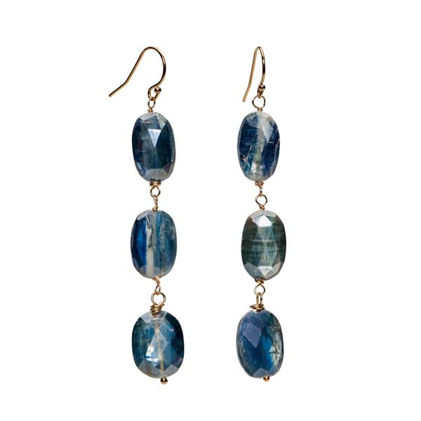 Kyanite Station Earrings