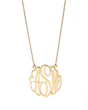 Script Monogram Necklace