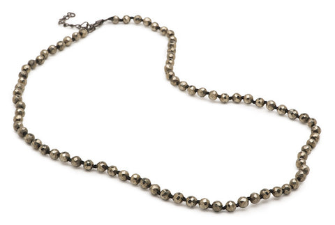 Austin Necklace - Large Pyrite