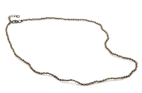 Austin Necklace - Small Pyrite