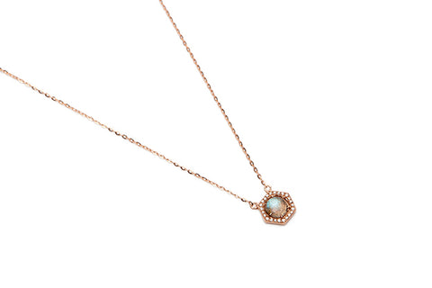 Mott Street Necklace - 14k Rose Gold