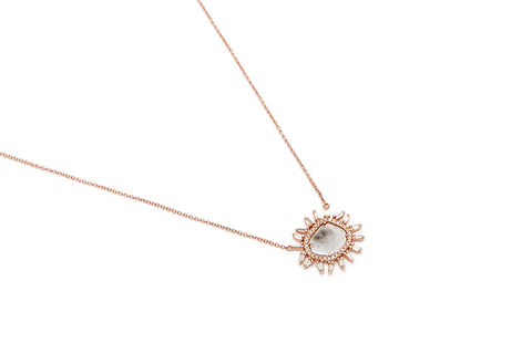Regents Necklace - Diamond Slice