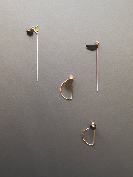 Singulier Gold, Earring - WMWATCHME