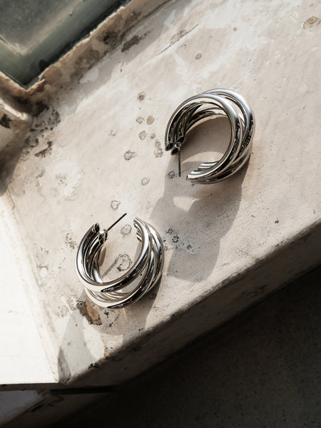 Urban Silver, Earring - WMWATCHME