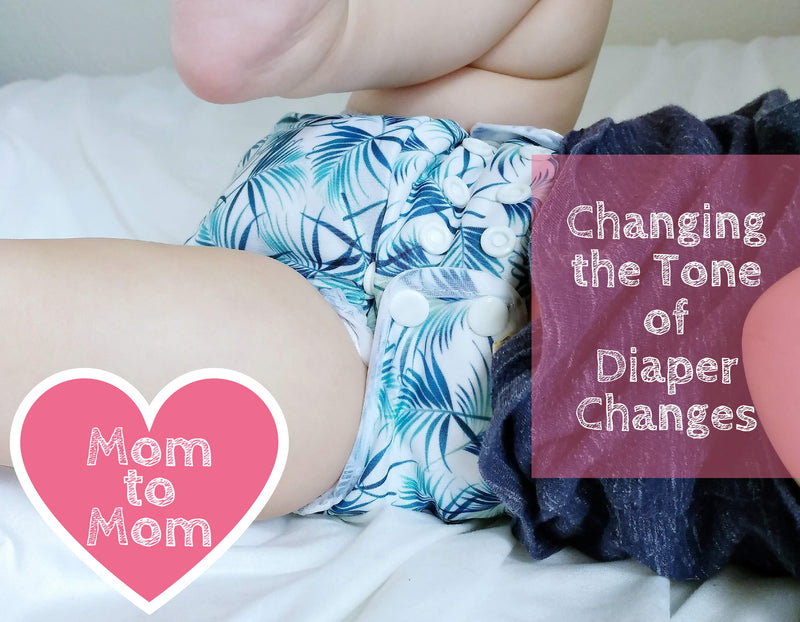 Changing the Tone of Diaper Changes
