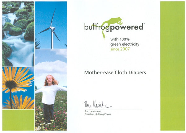 Mother-ease-bullfrog-power-certificate