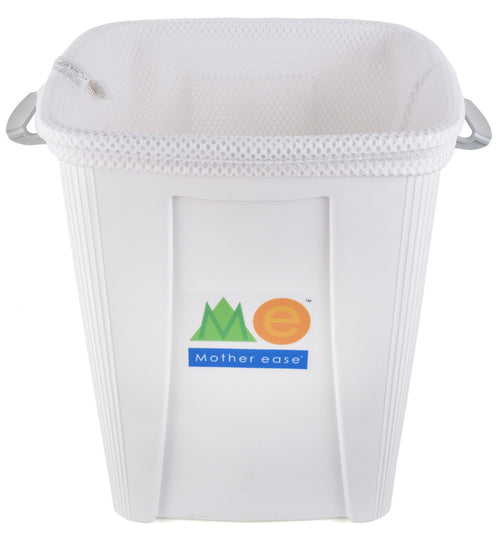 White Diaper Pail Mesh Liner Bag
