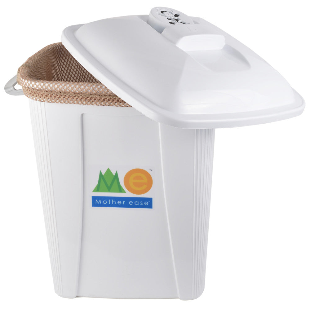 Open Pail with Beige Pail Liner