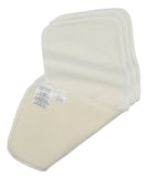 Sandys Absorbent Liners - Stay Dry on Unbleached Cotton