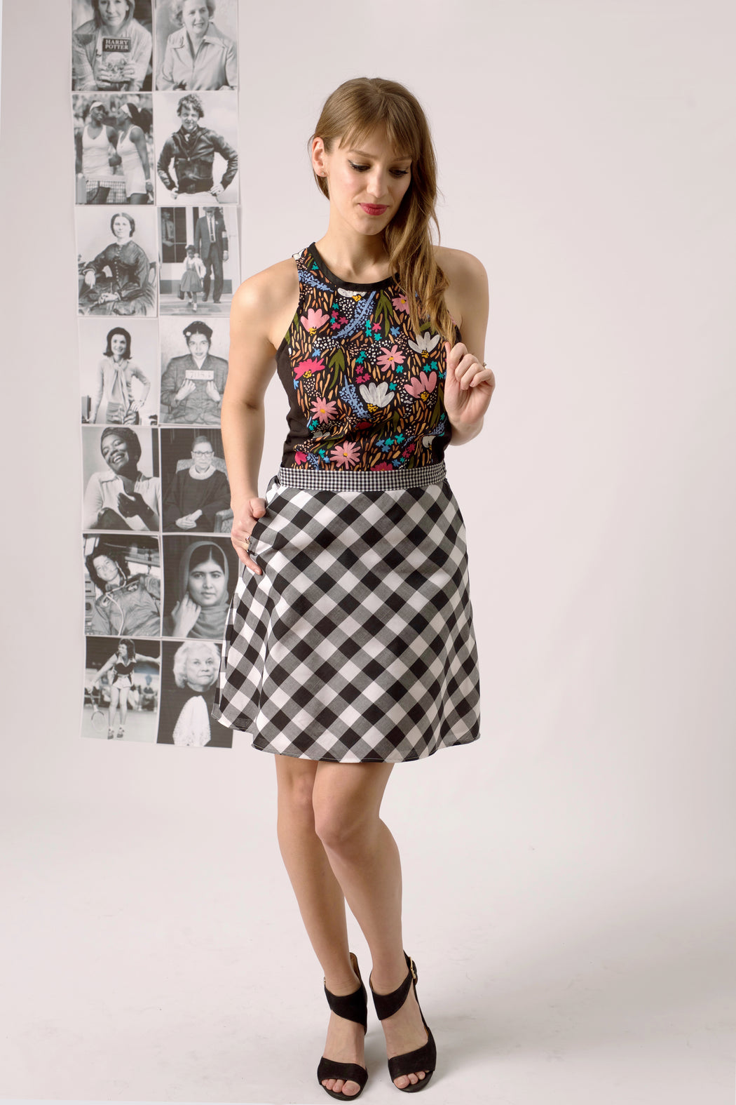 Jacqueline A-Line Skirt, Physical, Mallory