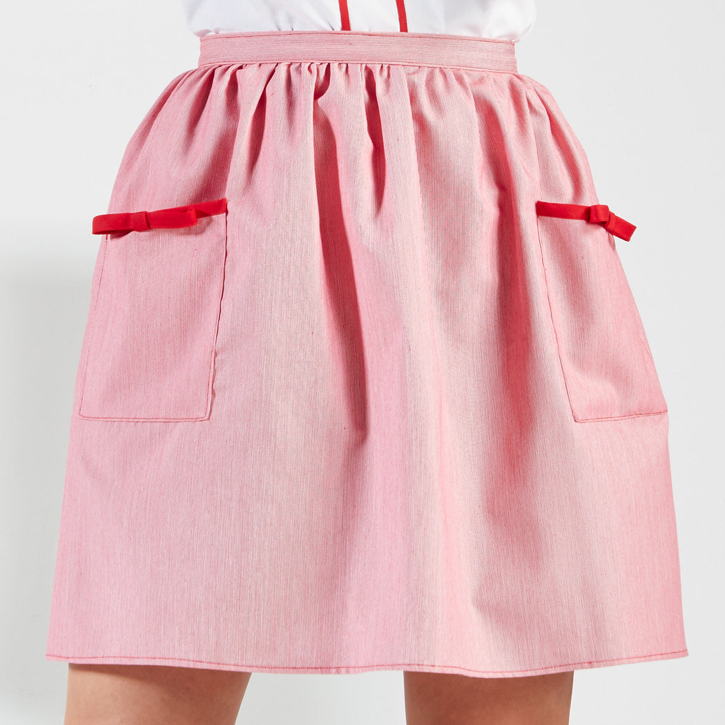 Ice Cream Gathered Skirt, Physical, Mallory