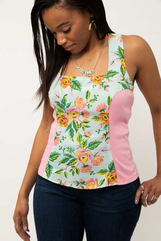 Brightside Fitted Tank Top