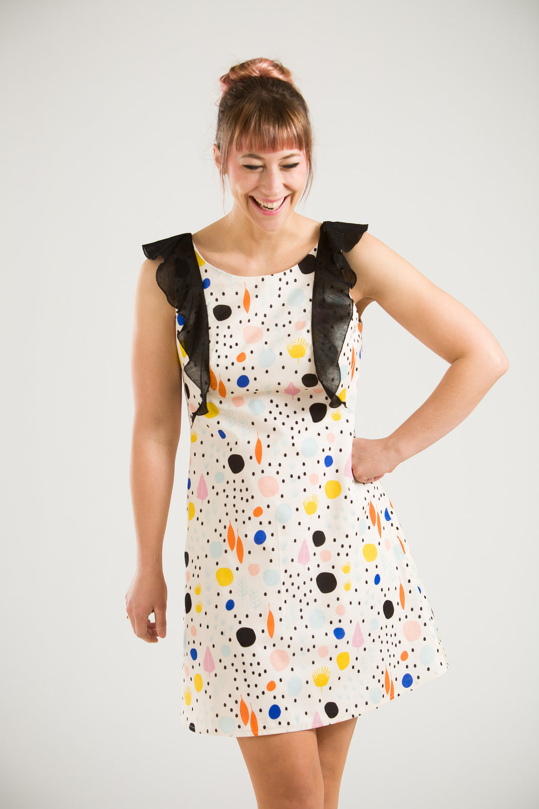 Dot Shift Dress, Physical, Mallory