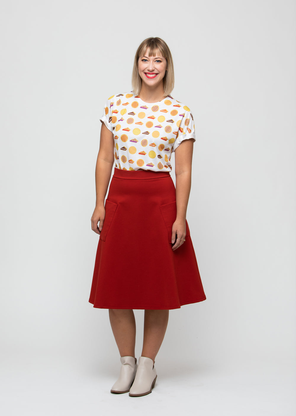 Pie Midi Skirt, Physical, Mallory
