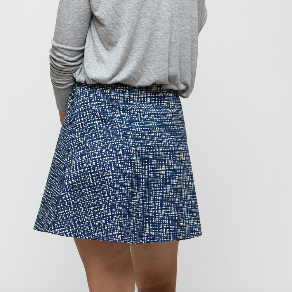 Cobbler Wrap Skirt, Physical, Mallory