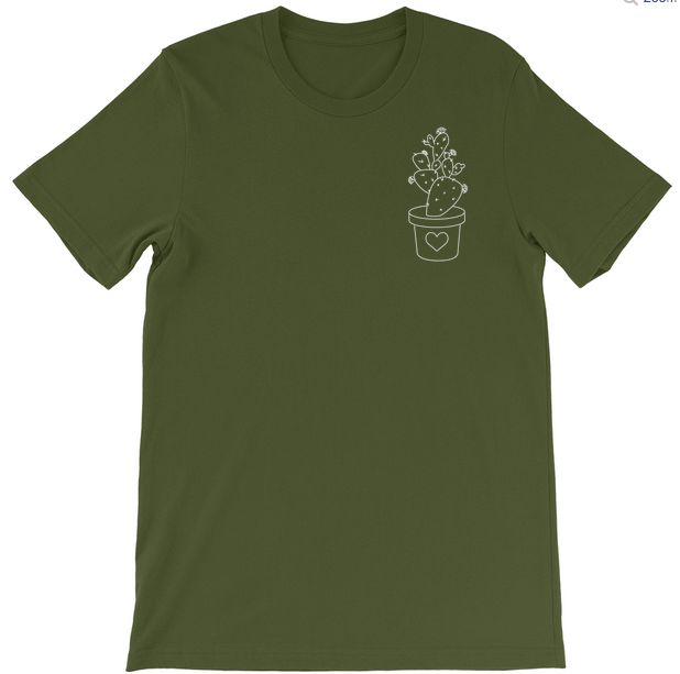 Cactus Love Tee - Multiple Colors, Physical, Mallory