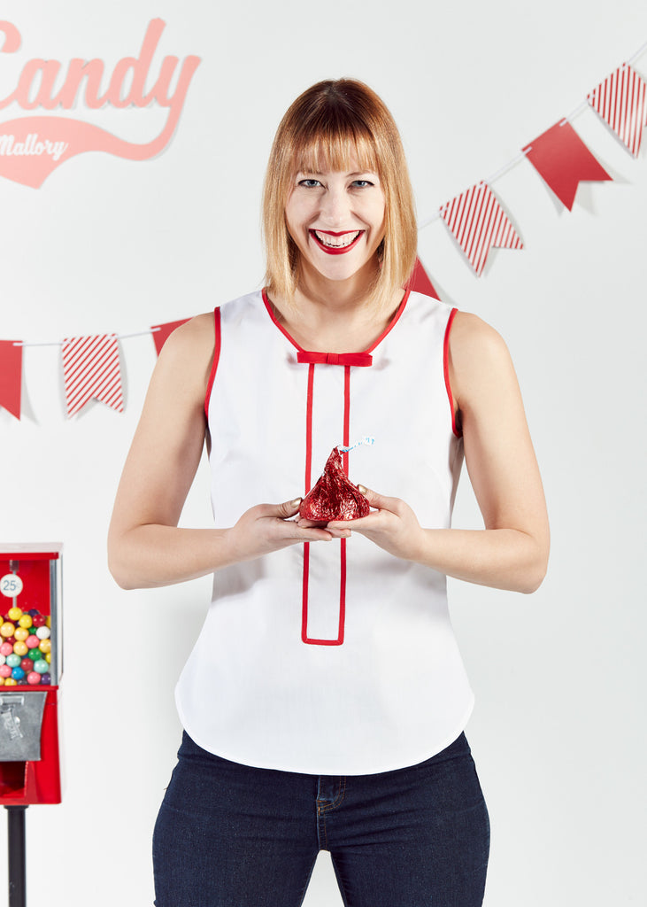 Candy Cane Tank Top
