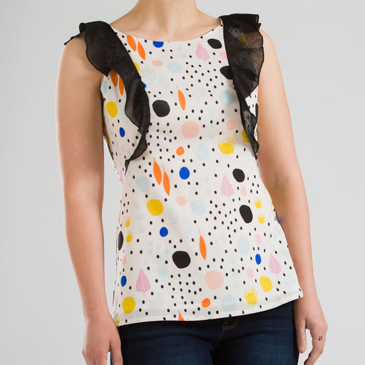 Dot Tank Top, Physical, Mallory