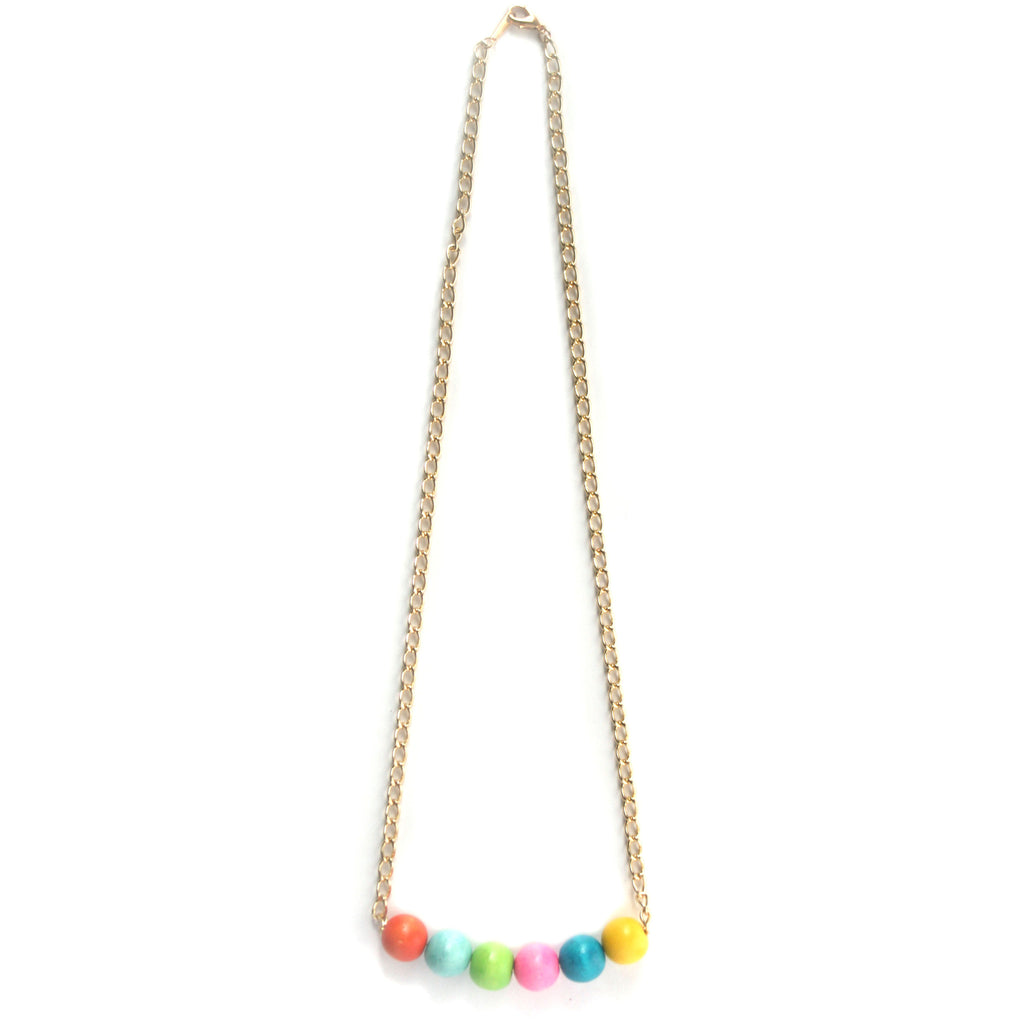 Gumball Necklace, Physical, Mallory