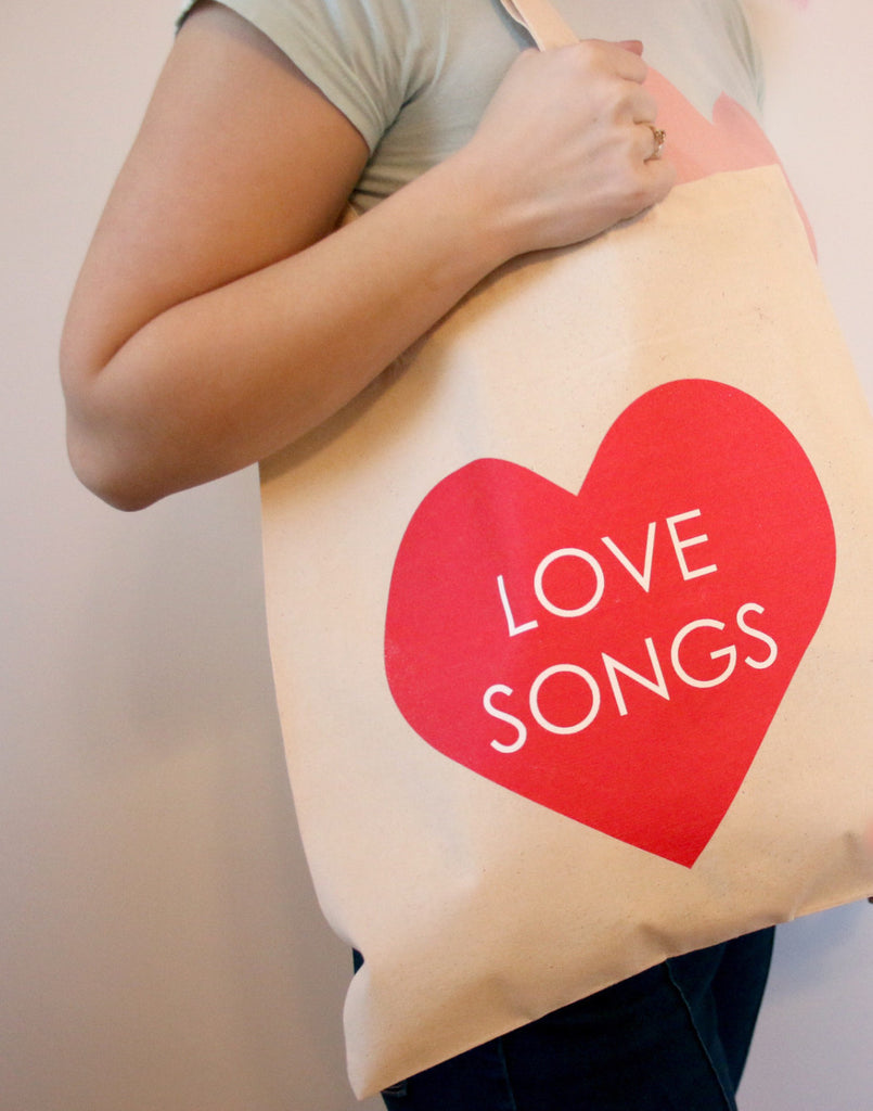 Love Songs Tote bag, , Mallory