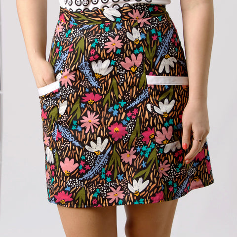 Maya Fitted Skirt