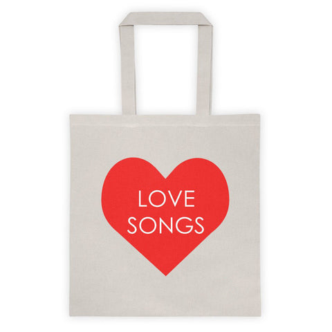 Love Songs Tote bag
