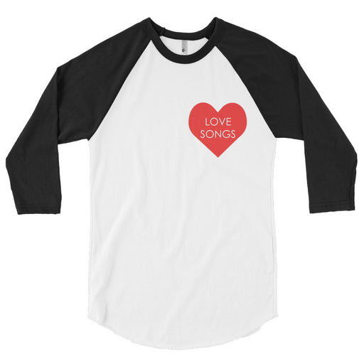 Love Songs Baseball Tee, , Mallory