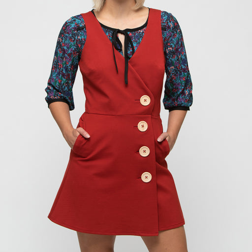 Pie Wrap Dress, Physical, Mallory