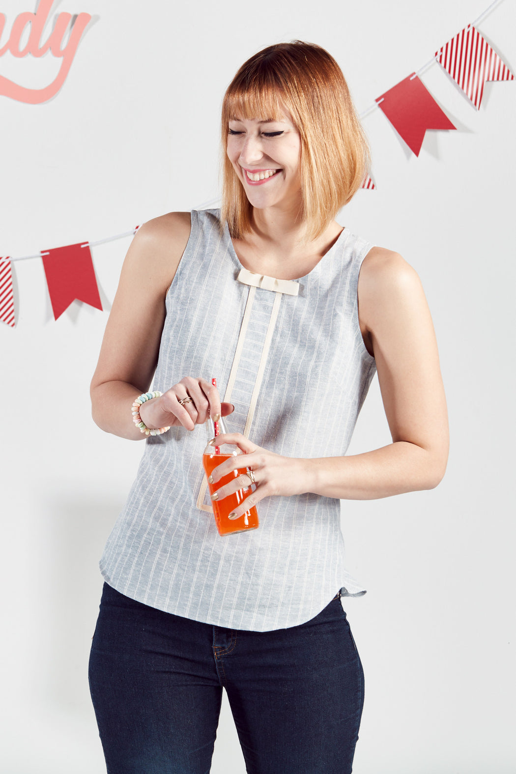 Soda Pop Tank Top, Physical, Mallory
