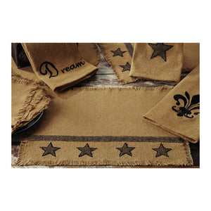 Burlap Star Tan Kitchen