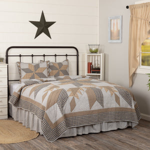 Dakota Star Farmhouse Blue Bedding