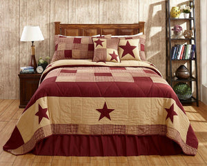 Jamestown Burgundy Bedding