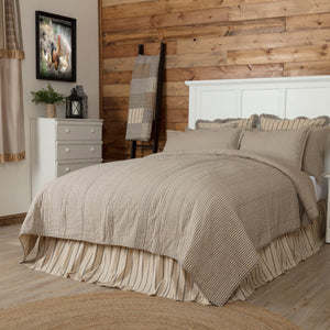 Sawyer Mill Charcoal Ticking Stripe Bedding