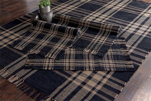 Sturbridge Black Cotton Rugs