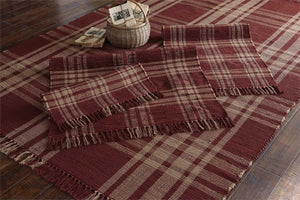 Sturbridge Wine Cotton Rugs