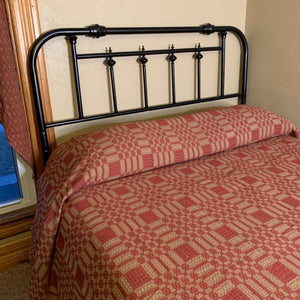 Westbury Cranberry and Tan Bedding